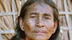 Les visages tatoués des femmes du villages de Chin