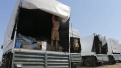 Le convoi russe pour l'Ukraine ouvre quelques unes de ses
