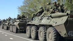 Ukraine : les blindés venus de Russie détruits par l'armée, selon