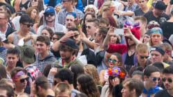 Plus de 100 arrestations au festival