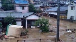 Japon: au moins 32 morts dans des glissements de