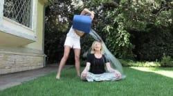Arianna Huffington acepta el 'Ice Bucket Challenge'