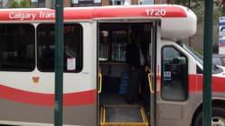 Calgary Shuttle Taken For