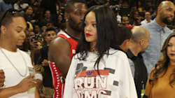 Rihanna's Courtside Style Is Hotter Than