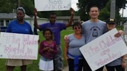 Why These Parents Brought Their Kids To Ferguson