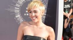 Miley Wears Tiniest Top