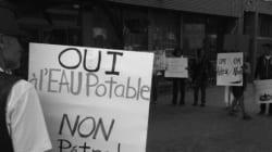 Tournée de Pétrolia : manifestation d'opposants à