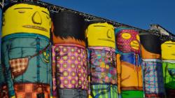 Brazilian Twin Artists Transform Vancouver's Granville