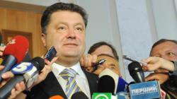 Ukraine: le président Petro Porochenko dissout le