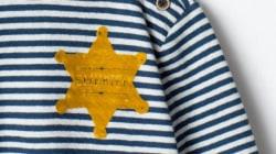 Zara crée la polémique avec un t-shirt rayé avec une étoile
