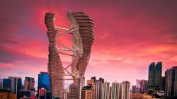 Un projet de gratte-ciel siamois à Hong