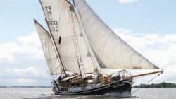 Sept grands voiliers s'amènent à