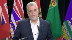 Charlottetown : Philippe Couillard se souvient de l'échec de