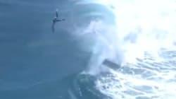 Des vagues de près de 7 mètres éclaboussent la