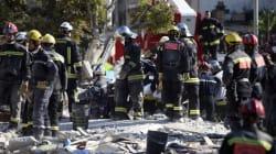 Effondrement en France: au moins sept