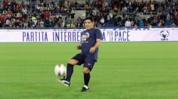 Maradona, Del Piero e Robi Baggio insieme: ecco la meraviglia e la poesia del