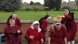 Le Ice Bucket Challenge complètement fou de 6 religieuses irlandaises