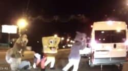 Russie: des mascottes impliquées dans un cas de rage au volant