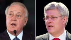 Mulroney Sounds Off On Harper's Supreme Court