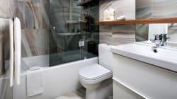 Designer 1-2-3: Compact Condo Bathroom