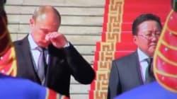 En plein direct à la télé, Vladimir Poutine craque