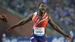 100 mètres: Justin Gatlin réalise le meilleur chrono de