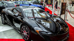 Luxury Cars Galore In