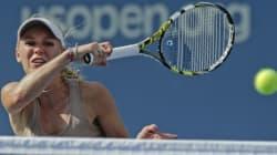 Caroline Wozniacki en finale de l'US Open cinq ans