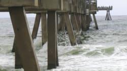 L'ouragan Norbert cause des dommages importants au