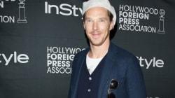Benedict Cumberbatch Sports Something