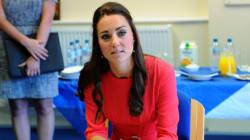 Comme pour sa première grossesse, Kate souffre de