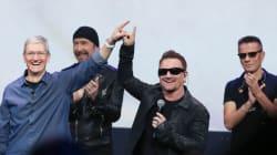 Le nouvel album gratuit de U2, l'autre grosse annonce de la