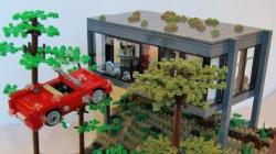 Des scènes de films recréées... en Legos!