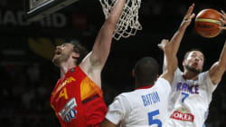Les basketteurs français battent l'Espagne et sont en demies du