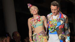 Le feu d'artifice Jeremy Scott et Miley Cyrus à la Fashion week de New