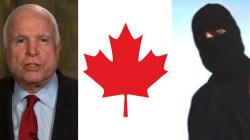 McCain Warns ISIS Terrorists May Cross 'Porous' Canadian