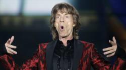 Mick Jagger est un