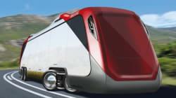 L'Overdrive: un camion 8RM autonome et fonctionnant à