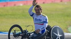 Zanardi all'Ironman World Championship