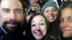 John Travolta's Lumberjack Beard Is