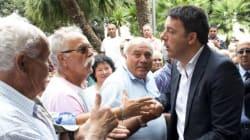 Renzi contestato all'Ilva di Taranto da operai e
