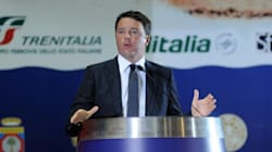 Applausi e contestazioni per Renzi nella
