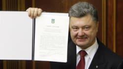 L'accord entre l'Ukraine et l'UE ratifié: tout ça pour