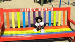 'Buddy Bench' Helps Schoolkids Seek