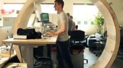Remplacez votre chaise de bureau par une roue de hamster