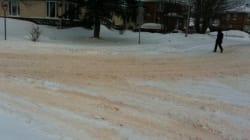 Neige rougeâtre à Arvida : Rio Tinto Alcan conteste l'accusation