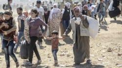 Exode de 70 000 Kurdes syriens face aux jihadistes d'EI
