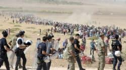 Des dizaines de milliers de Kurdes syriens fuient les djihadistes vers la