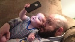 今どきのお父さんが子育てを一生懸命に楽しんでいることがわかる、21枚の写真