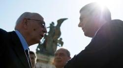 Jobs Act. Napolitano con Renzi e in linea con Draghi. Ma il premier mette in conto il voto